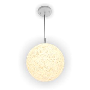 Pendente 1 Lâmpada Branco Artline Condulai