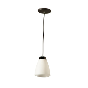 Pendente 1 Lâmpada Branco Basic Luz Vita