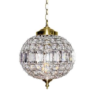 Pendente 1 Lâmpada Bronze e Transparente Adana Altaluce
