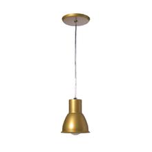 Pendente 1 Lâmpada Bronze Igloo Pantoja&Carmona