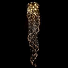 Pendente 1 Lâmpada Cristal Redondo Diamante