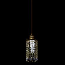 Pendente 1 Lâmpada Dourado 1060/1 Diamante