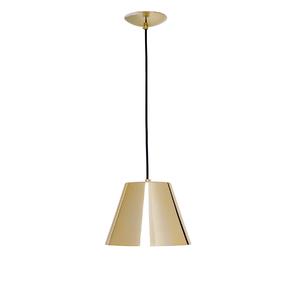 Pendente 1 Lâmpada Dourado 601/1 Auremar