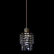 Pendente 1 Lâmpada Grafite 1070/1 Diamante
