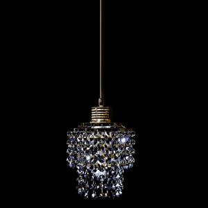 Pendente 1 Lâmpada Grafite 1080/1 Diamante