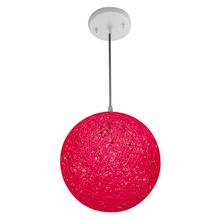 Pendente 1 Lâmpada Pink Artline Condulai