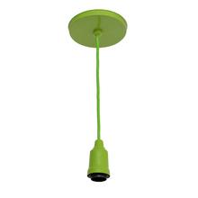 Pendente 1 Lâmpada Verde Color Inspire