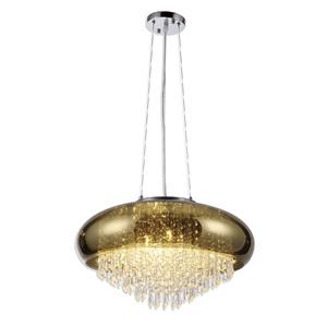 Pendente 6 Lâmpadas Dourado Dallas Altaluce