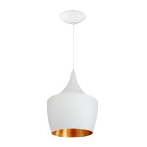 Pendente Branco e Dourado Gran Pivot JM Iluminação