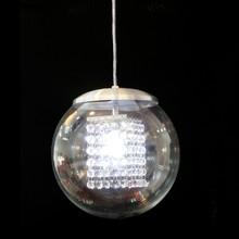 Pendente de Cristal Original com Cúpula de Vidro para G9