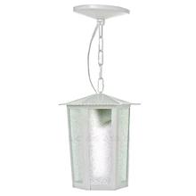 Pendente Externo Branco Metal L11C Ideal Iluminação