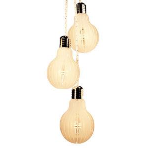 Pendente LED Branco Acrílico E-Led