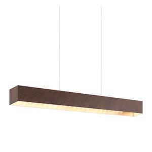 Pendente LED Eglo Retangular Metal 12W Bivolt