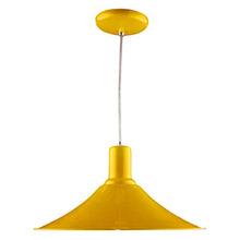 Pendente Luz Vita Maozi Redondo Alumínio Amarelo Bivolt