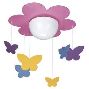Pendente Meria 1 Lâmp. E27 (máx.40W) Flor Colorido Philips