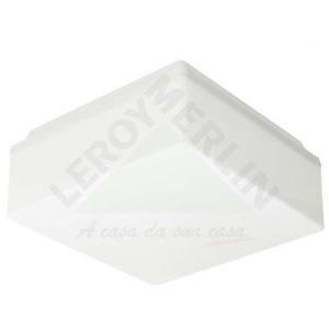 Pendente Pegasus Plástico/Policarbonato 11,5x23,5cm Branco Baxton