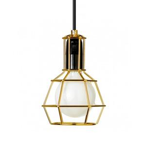 Pendente Damafe Work Redondo Aço Amarelo 1 Lamp Bivolt