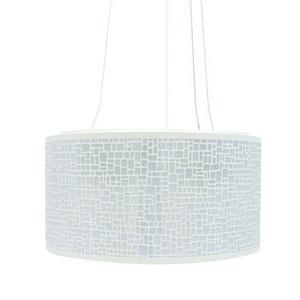 Pendente Taschibra Radiance Redondo Aço/PVC Branco 3 Lamp Bivolt