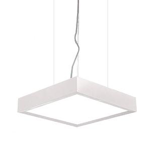 Pendente Spot Line 390/5 Redondo Alumínio Branco 5 Lamp Bivolt