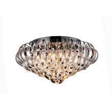 Pendente Transparente Metal e Cristal CH2001-5 Chandelie
