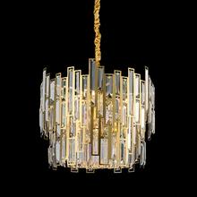 Pendente Transparente Metal e Cristal CH2830-2 Chandelie