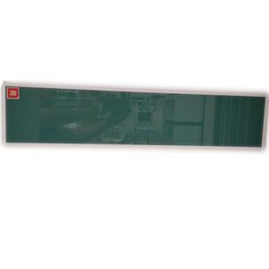 Perfil 3136 Branco Puxador 3178 Branco Vidro verd
