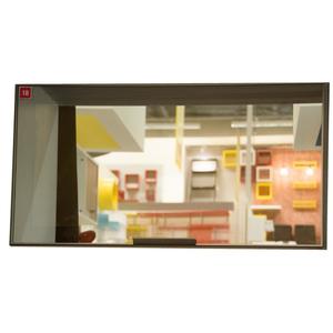 Perfil 3345 Inox/ Puxador 5015 Inox/ Vidro Reflecta bz