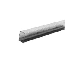 """Perfil 4""""x2,65mm 100x40x2,65mm Aço Carbono ABD Ferro e Aço"""
