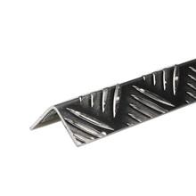 Perfil Alumínio Canto Grão de Arroz 2mx40x40mm