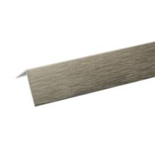 Perfil Alumínio L 1mx10x20mm Escovado