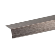Perfil Alumínio L 1mx15x30mm Escovado