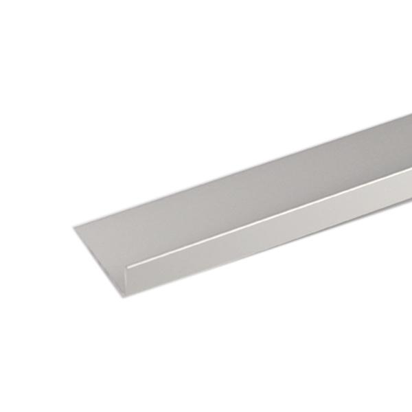 Perfil alum nio l 2mx40x15mm anodizado leroy merlin - Perfil aluminio anodizado ...