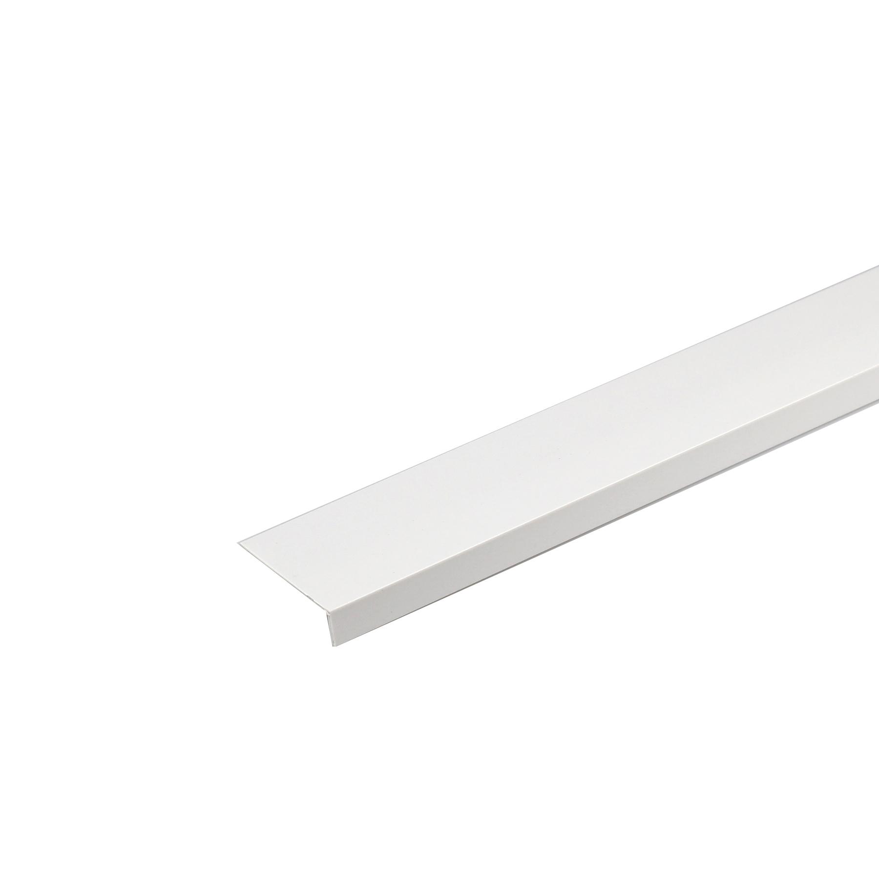 Perfil Angular Diferente PVC Porcelana 1mx2cm
