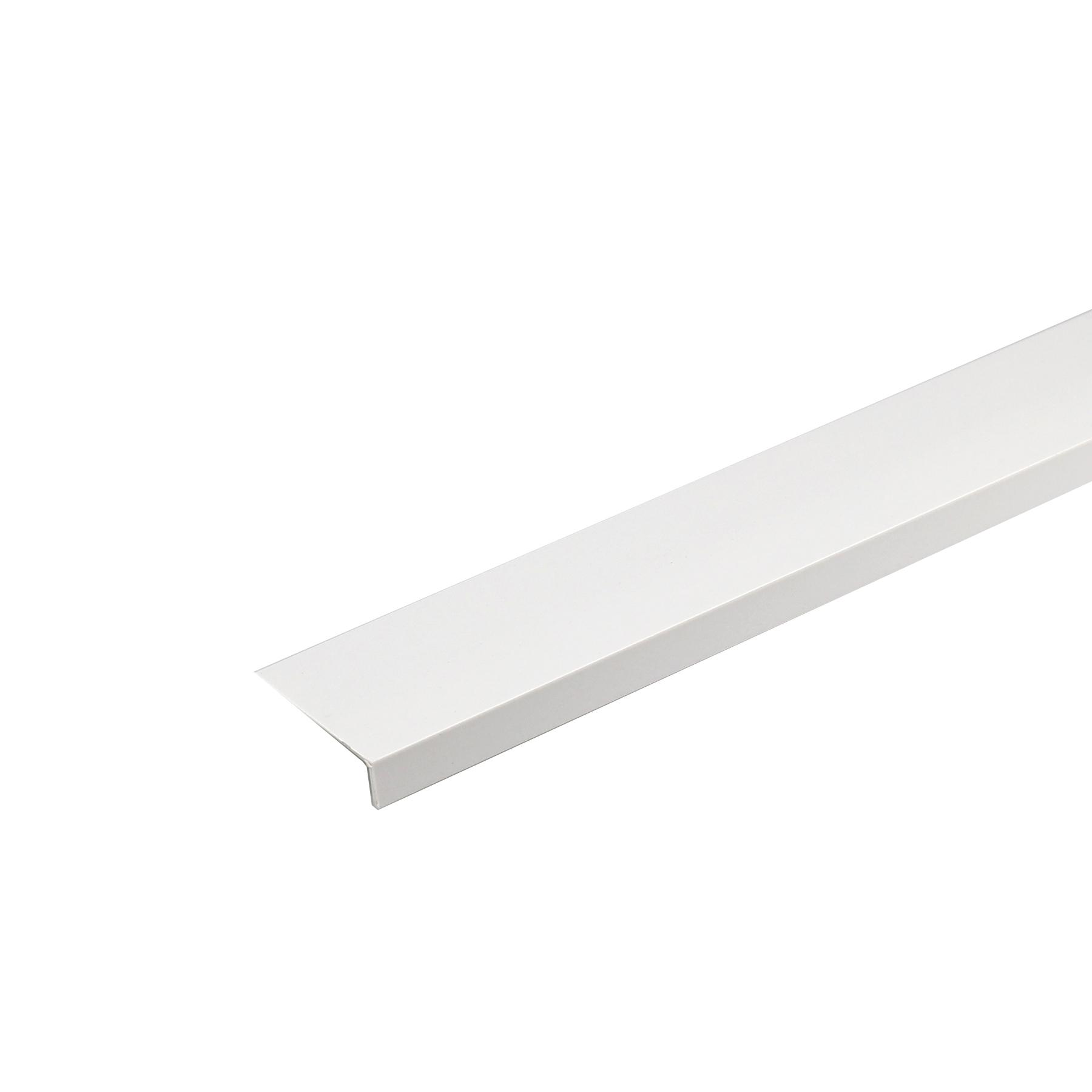 Perfil Angular L PVC Acetinado 1mx4cm