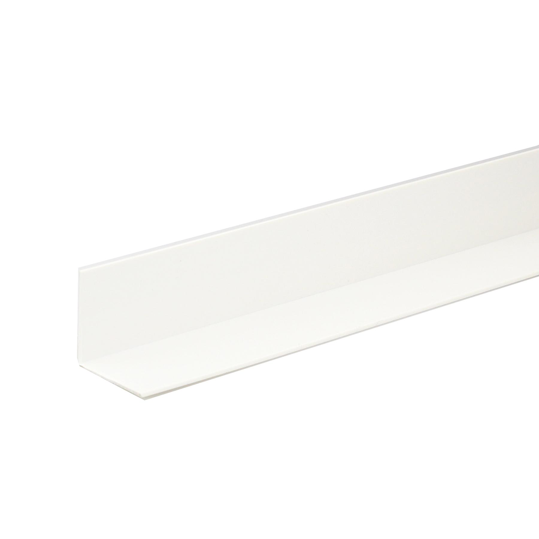 Perfil Angular PVC Acetinado 1mx2cm