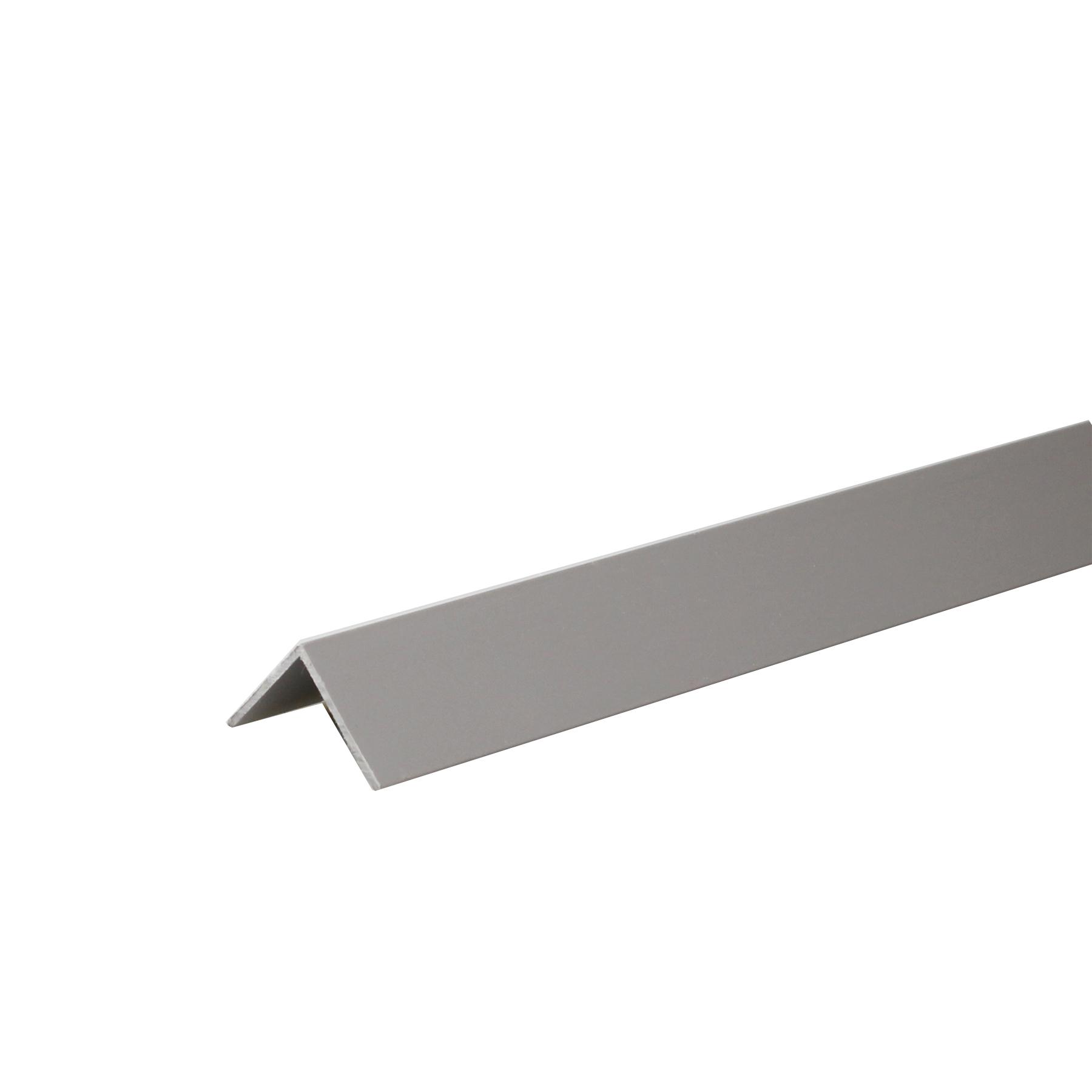 Perfil Angular PVC Acetinado 2mx2cm