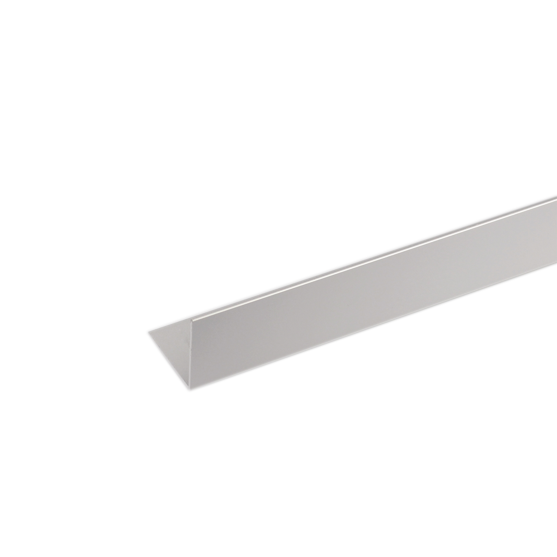 Perfil Canto Alumínio Anodizado 1mx1cm