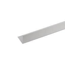 Perfil Canto Alumínio Anodizado 2,6mx2,5cm