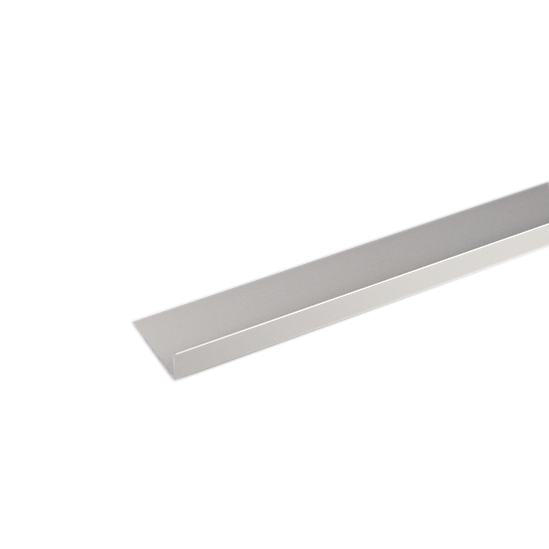 Perfil alum nio l 2mx20x10mm anodizado leroy merlin for Perfil u aluminio leroy merlin