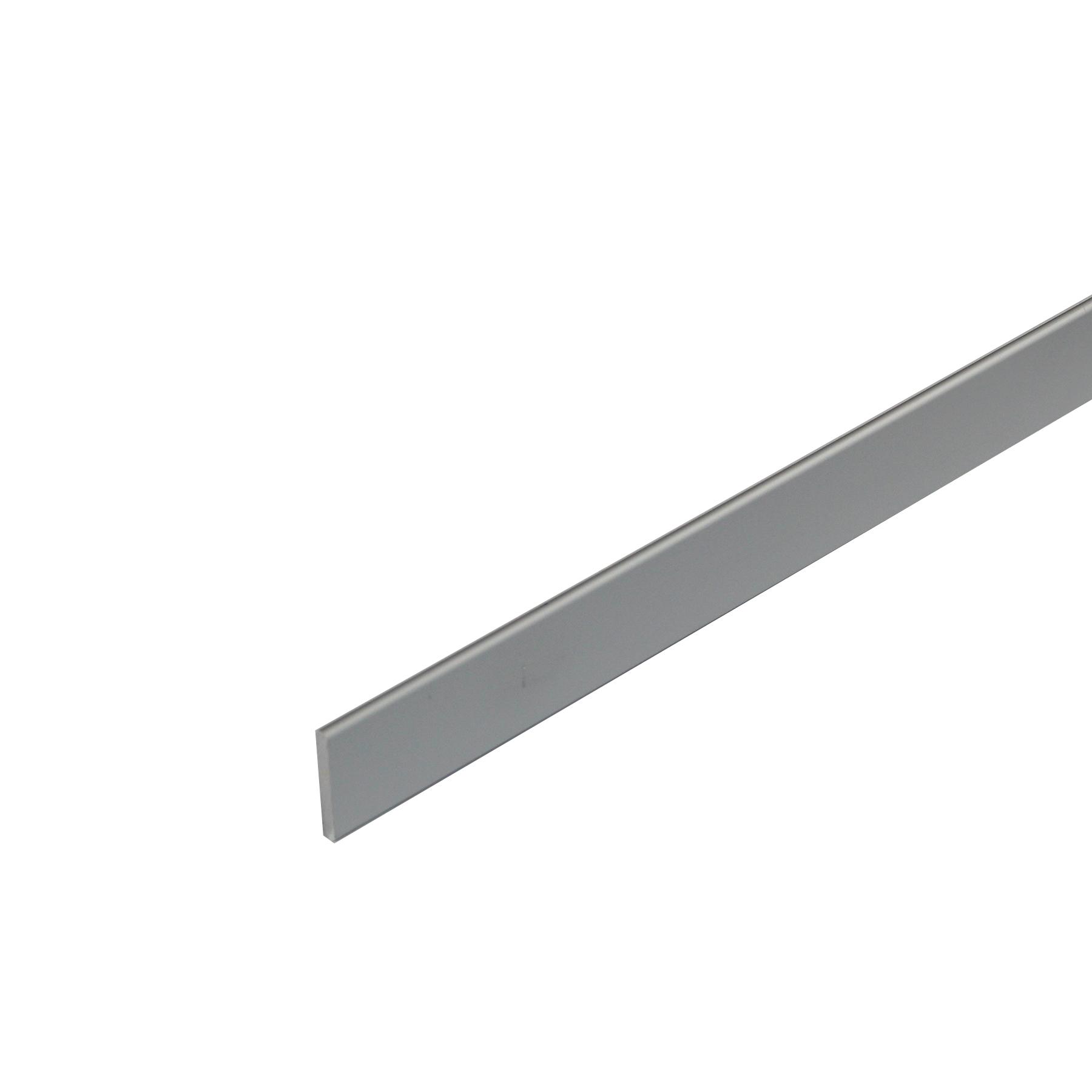Perfil Cantos Diferentes Alumínio Anodizado Cromado 1mx2,5cm