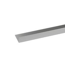 Perfil Cantos Diferentes Alumínio Anodizado Cromado 2mx2cm