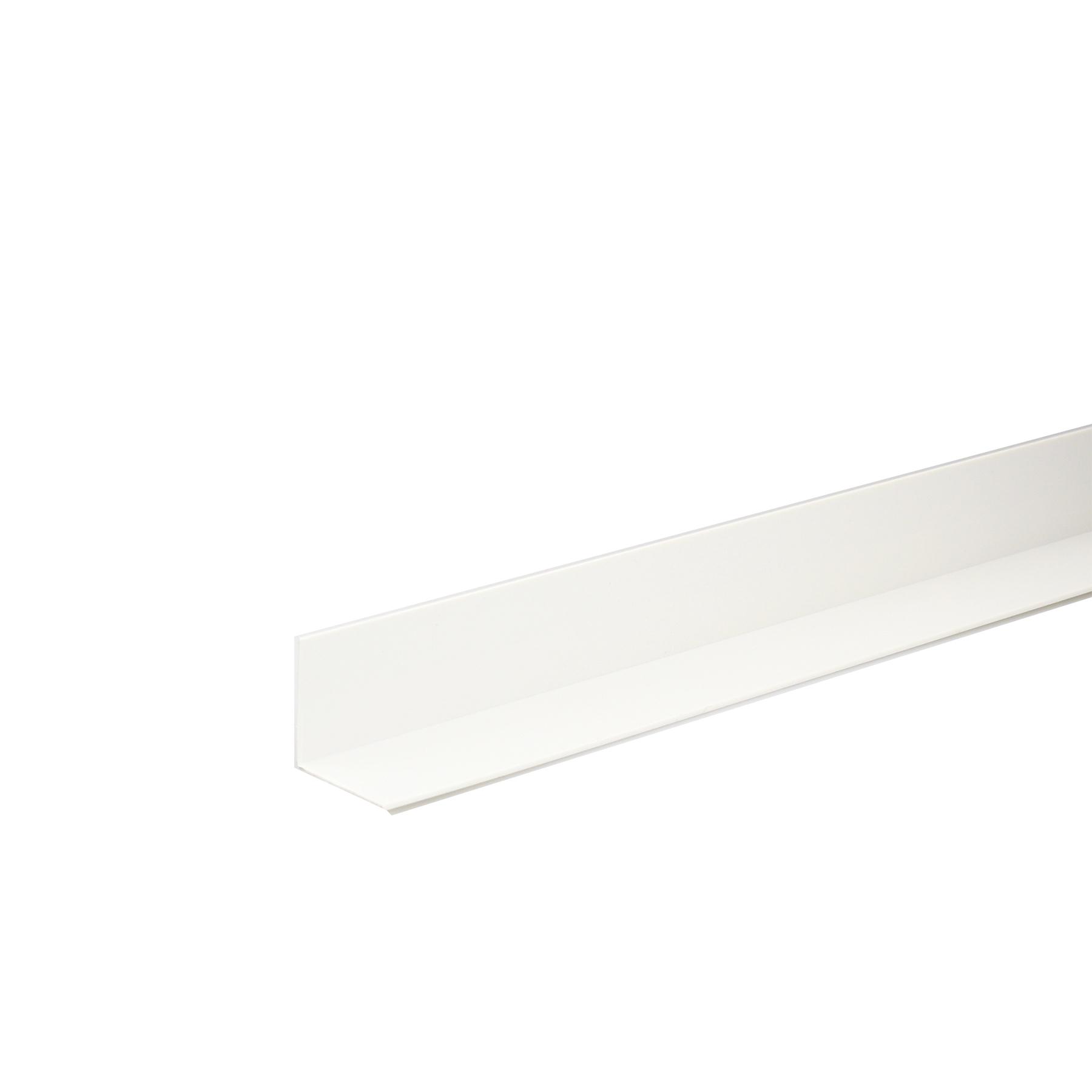 Perfil Cantos Diferentes PVC Porcelana 1mx2,5cm