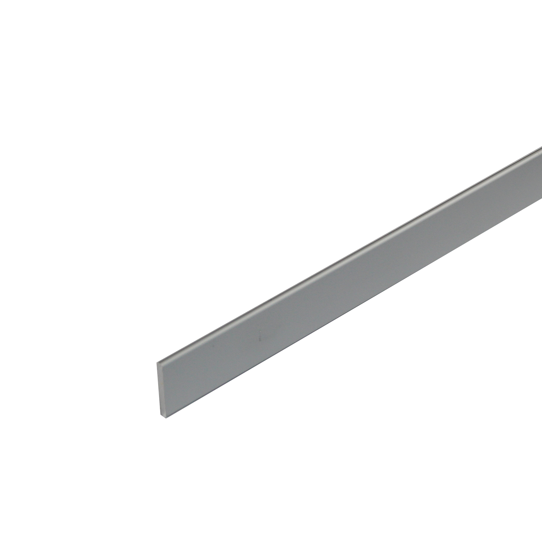 Perfil Cortina Alumínio Anodizado 1mx4cm