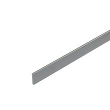 Perfil Cortina Alumínio Anodizado 2mx4cm