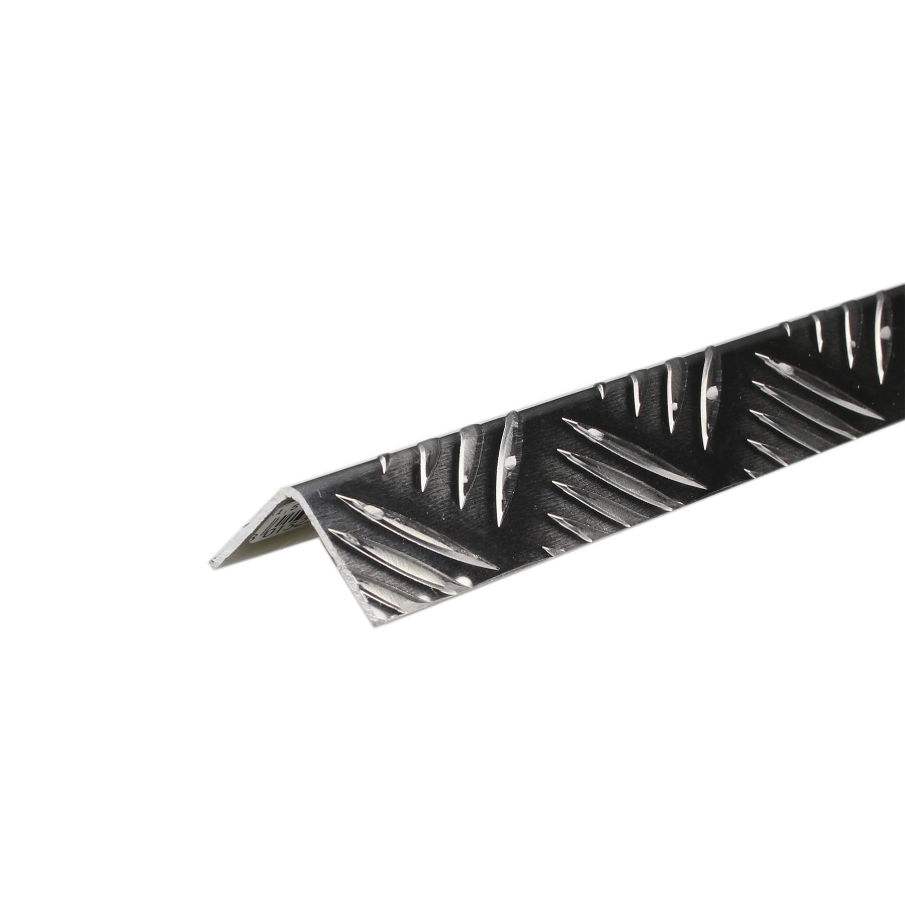 Perfil Grão de Arroz Alumínio 2mx2cm