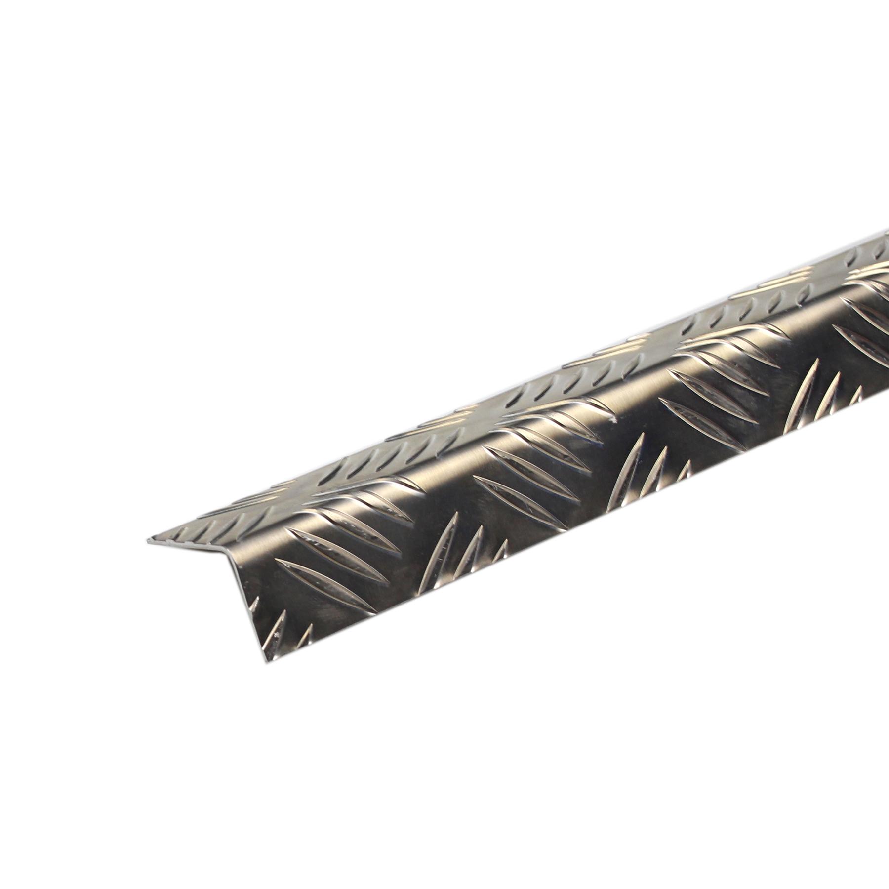 Perfil Grão de Arroz Alumínio 2mx5cm