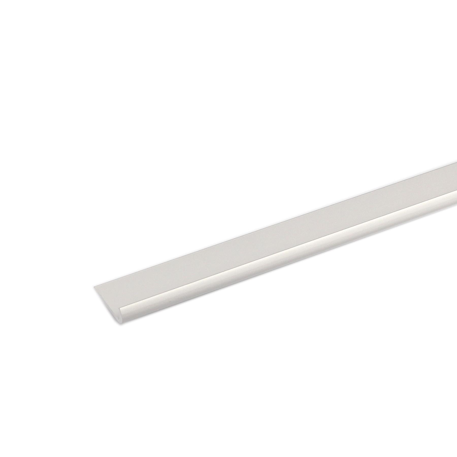 Perfil J Alumínio Anodizado 1mx2,5cm