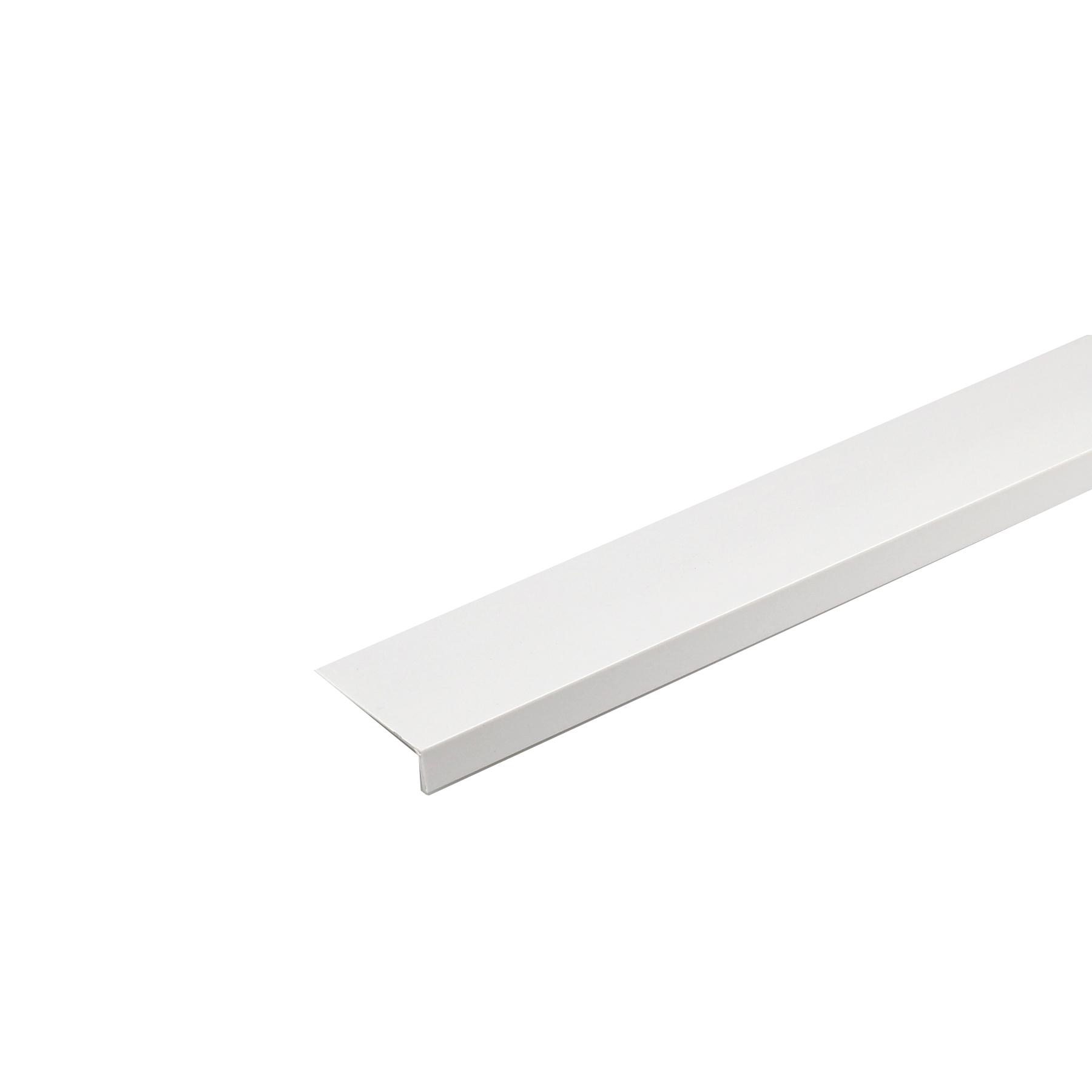 Perfil L PVC Acetinado 1mx2,5cm
