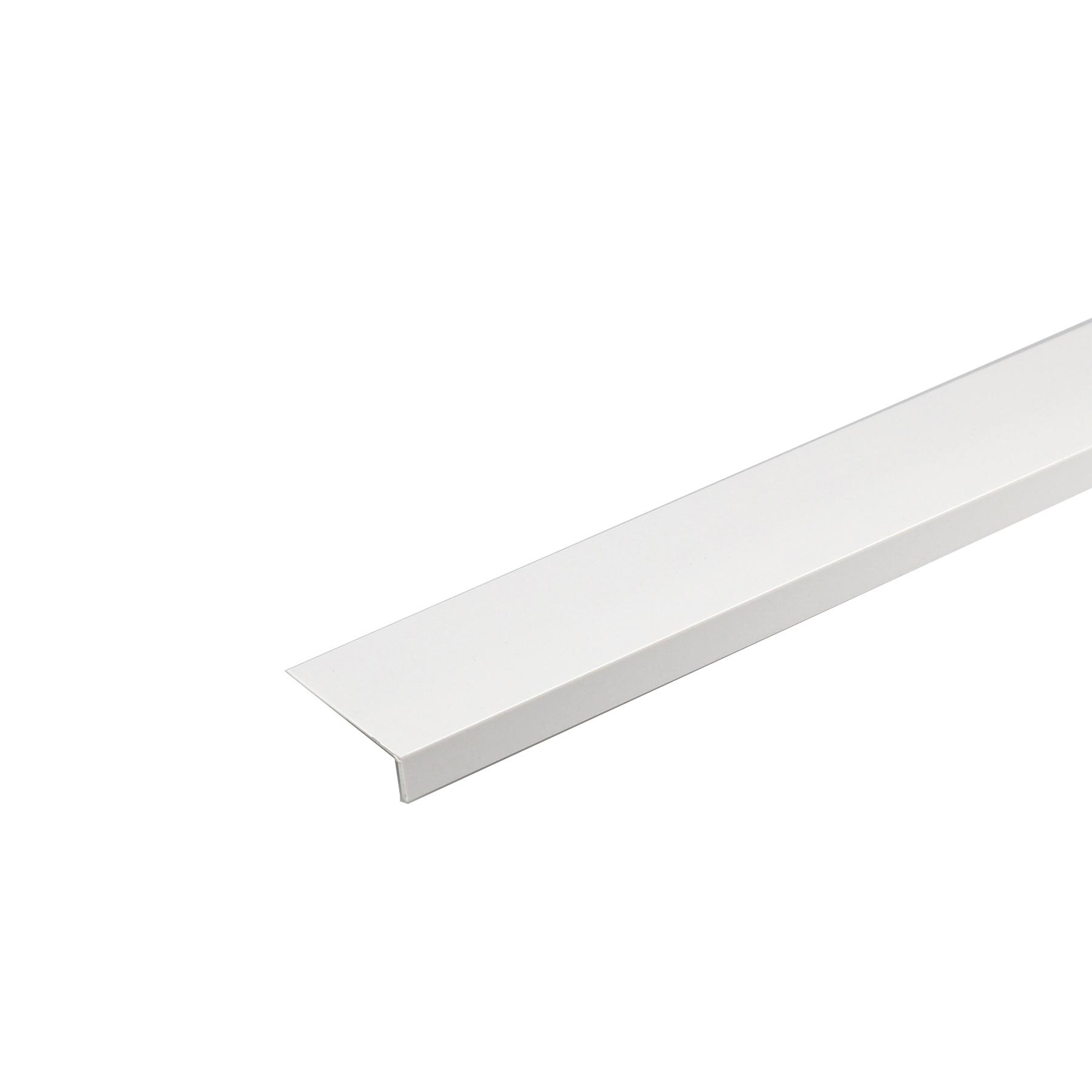 Perfil L PVC Acetinado 1mx2cm