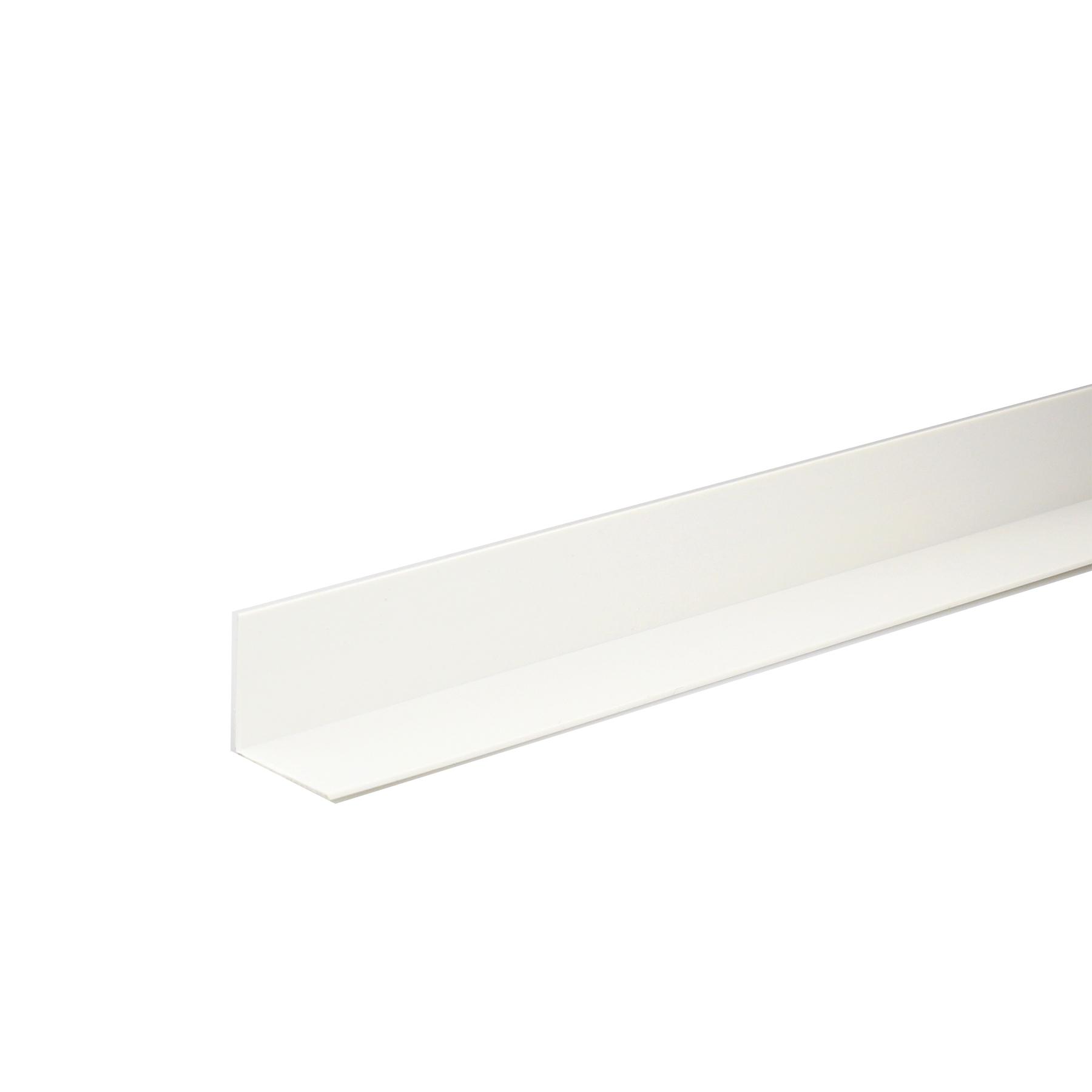Perfil L PVC Porcelana 1mx2cm